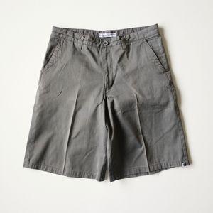 Ezekiel Olive Khaki Shorts 34 Men's